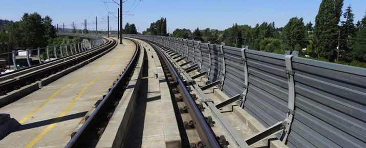 Seattle-Washington-South-Link-Light-Rail-Noise-Wall