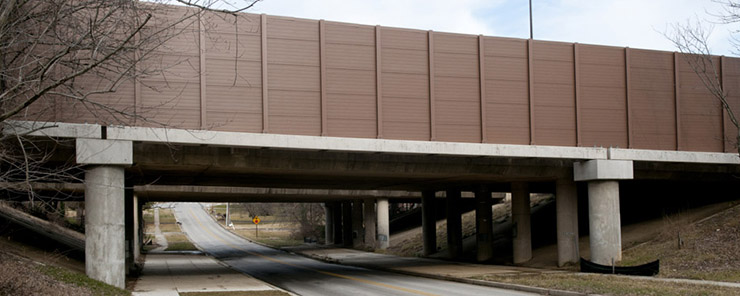 Structure Mounted Noise Barriers 1