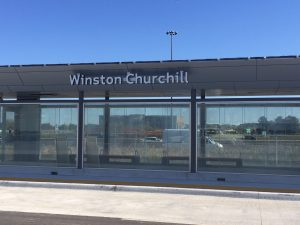 Silentium Group's Integrated Retaining Wall / Noise Wall Chosen by Metrolinx for Winston Churchill GO Station